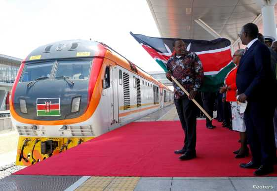 Kenya Opens Second Phase of Massive Railway Project | Voice of ...