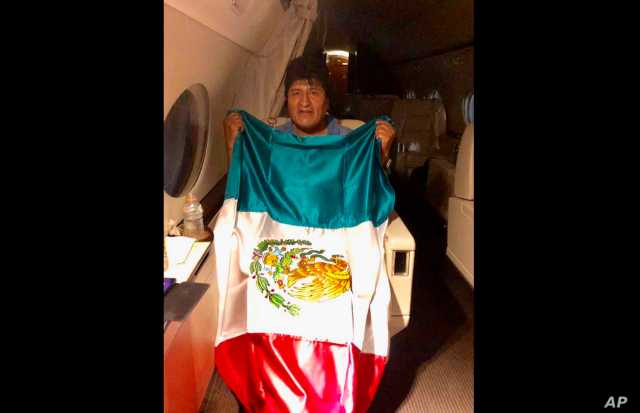 Evo Morales Arrives in Mexico, as US Applauds His Resignation as ...