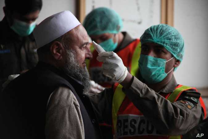 Pakistan Links Some of Its 21 Coronavirus Cases to Syria | Voice of America - English