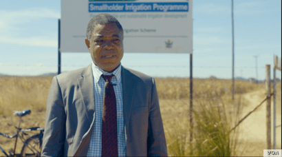 Conrad Zawe, irrigation development director in Zimbabwe's Ministry of Agriculture, says the country is underutilizing its irrigation potential, May 2019. (C. Mavhunga/VOA)