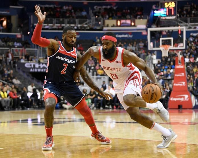 John Wall, James Harden square off in pickup basketball - Washington Times