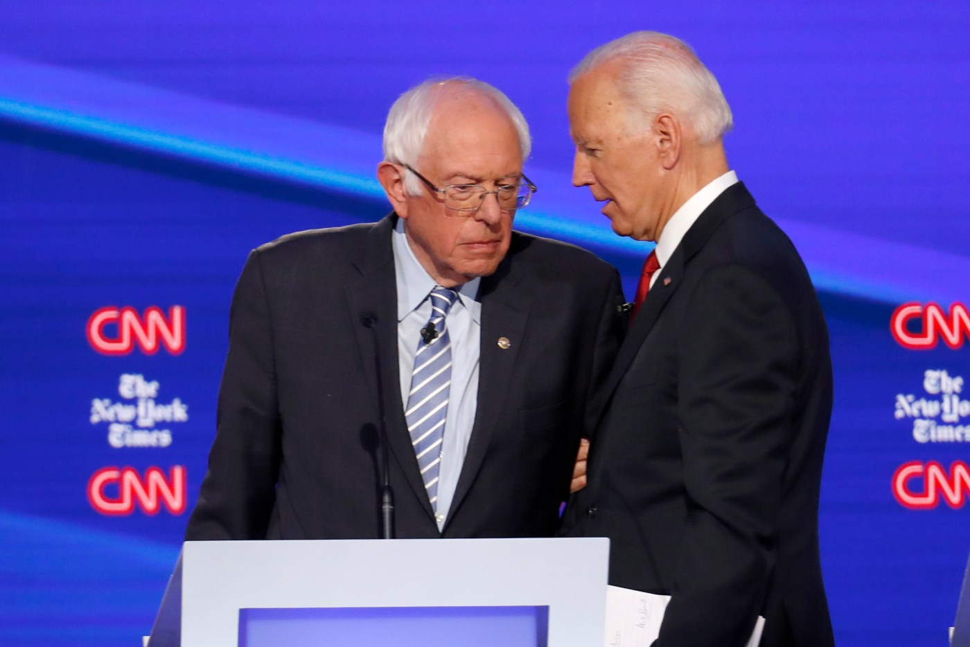 Why Bernie Sanders seems younger than Joe Biden - Washington Times