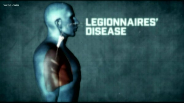 NC officials confirm 3rd death from Legionnaires