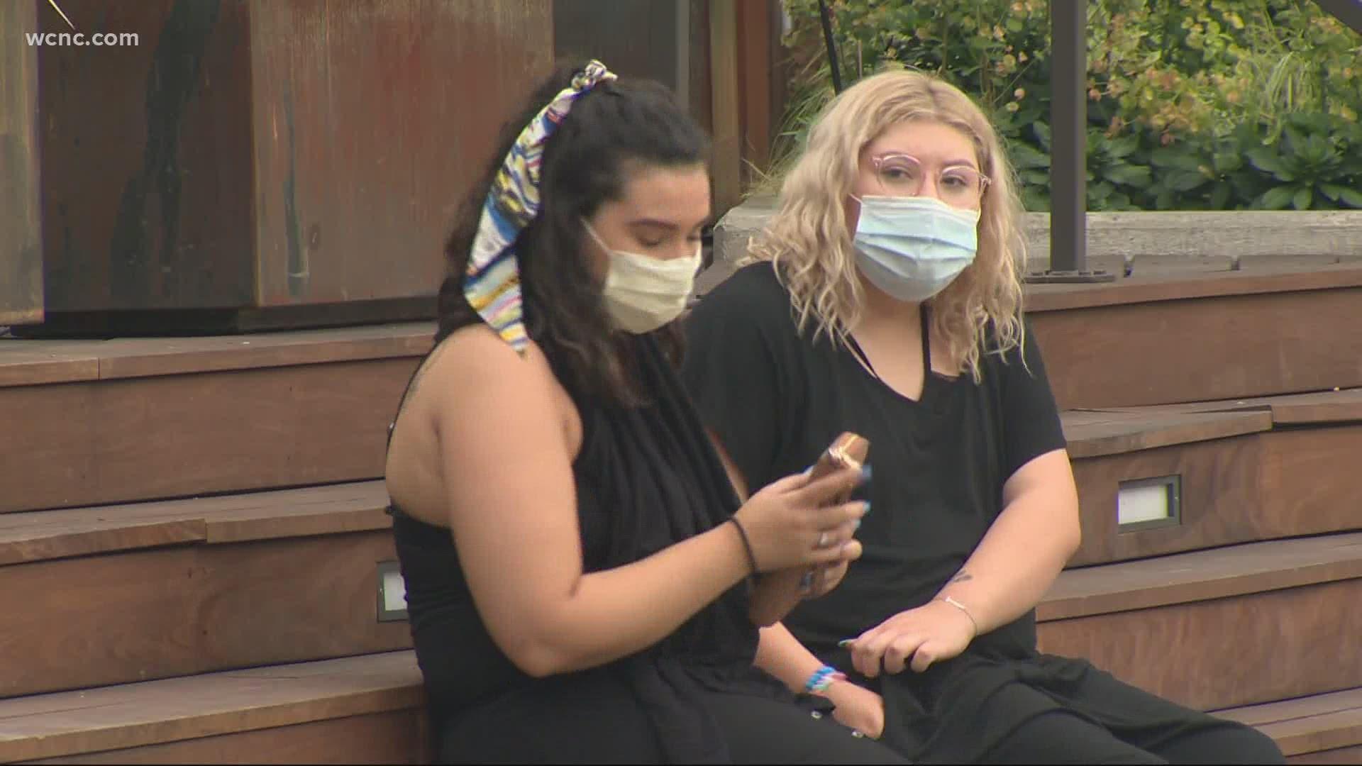 North Carolina Mask Mandate Some Support Some Oppose