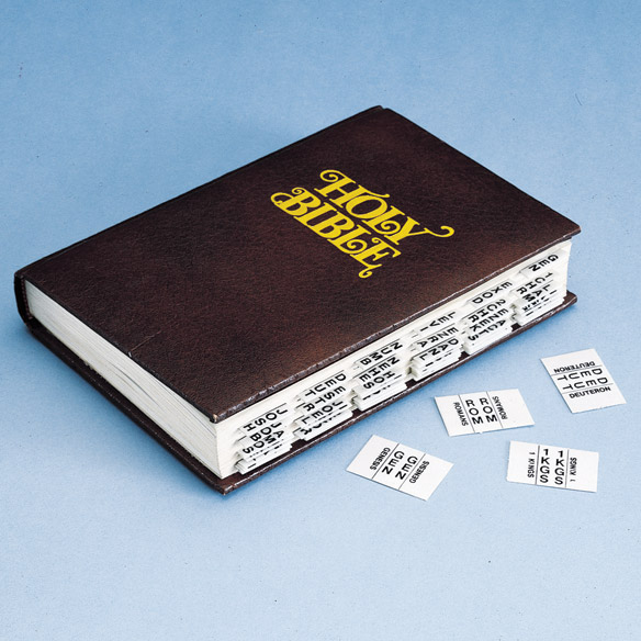 Bible Tabs Bible Index Tabs Books Amp Videos Walter Drake