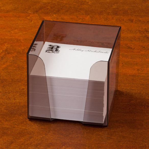 Personalized Memo Cube Custom Memo Cube Walter Drake