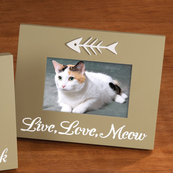 LED Live Love Meow Picture Frame LED Photo Frame