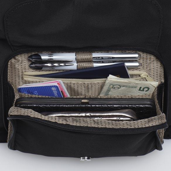 Smartbag Multi Compartment Purse Cross Body Purse