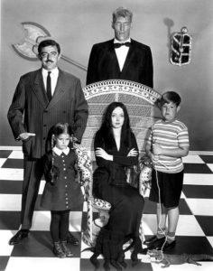 Bertè Famiglia Addams