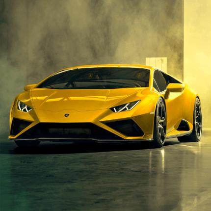 Lamborghini Huracan EVO con Amazon Alexa