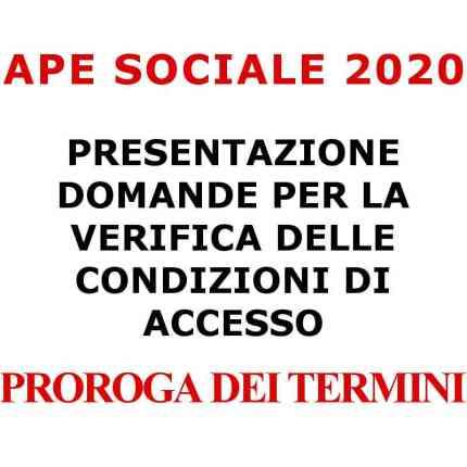 APE sociale 2020