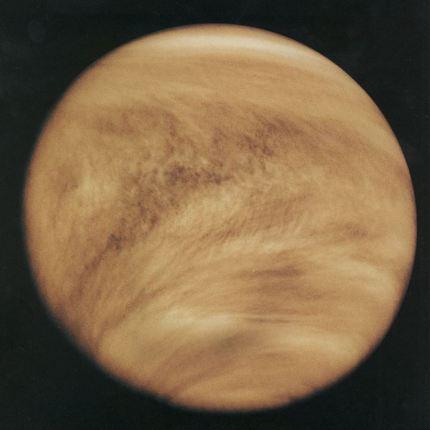 Venere visibile a occhio nudo foto