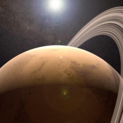 anello spaziale di Marte