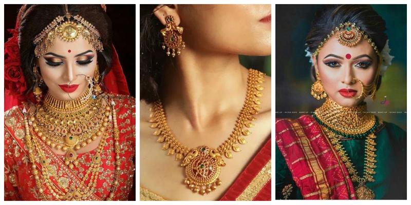 Wedding Jewellery Gold 3