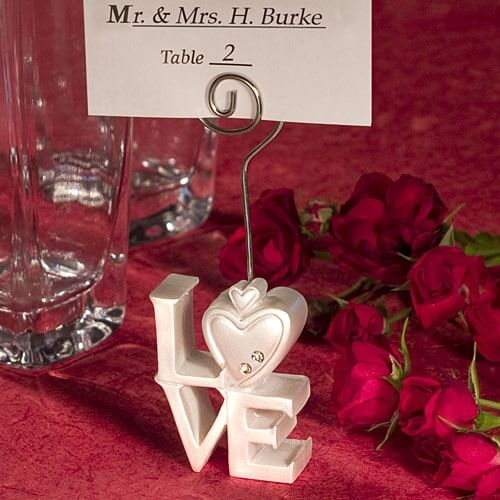 Tischkartenhalter Deko Hochzeit Herz 15 Stuck In 67065
