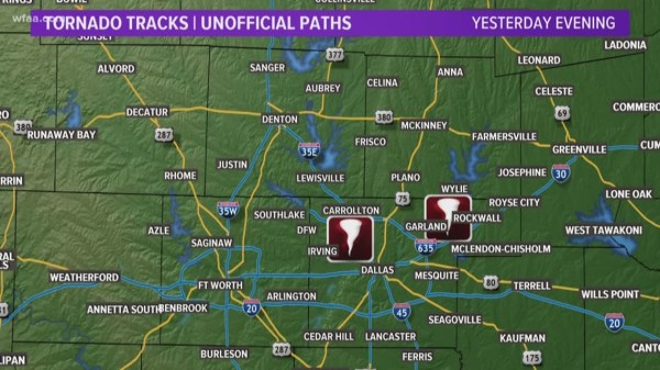 North Texas tornadoes: How to get help after Sunday