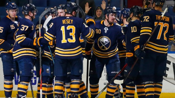 Sabres beat Columbus 4-3 in overtime