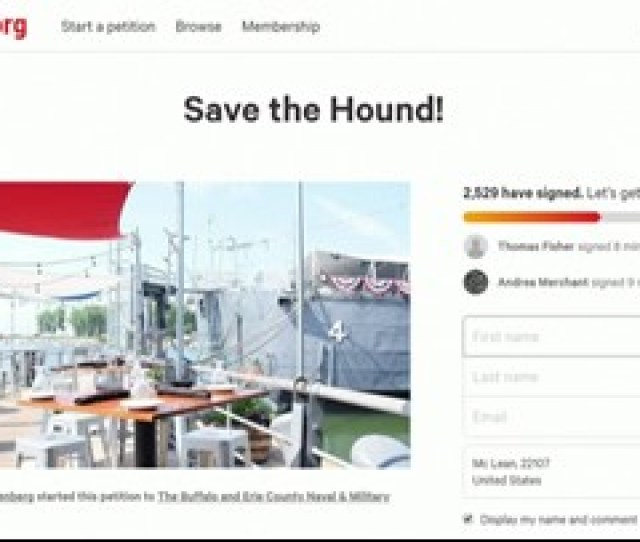 Local Online Petition Aims To Save Liberty Hound Restaurant At Canalside