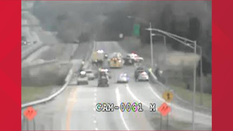 Crash On I 265 At Taylorsville Road