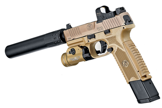 The FN 509 Tactical - A Game Changer For Optics-Ready 9mm Pistols