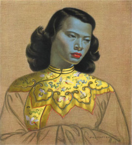 Tretchikoff at the National Gallery