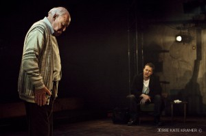 Timothy and Samuel West in A Number at the Fugard Theatre