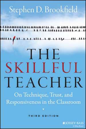 Image result for brookfield the skillful teacher picture of book