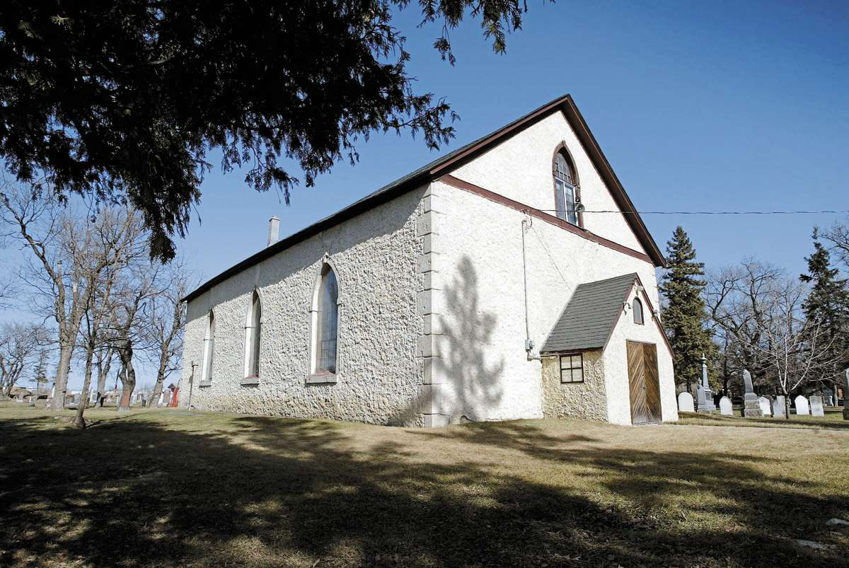 Kildonan Presbyterian Church was built in 1852.