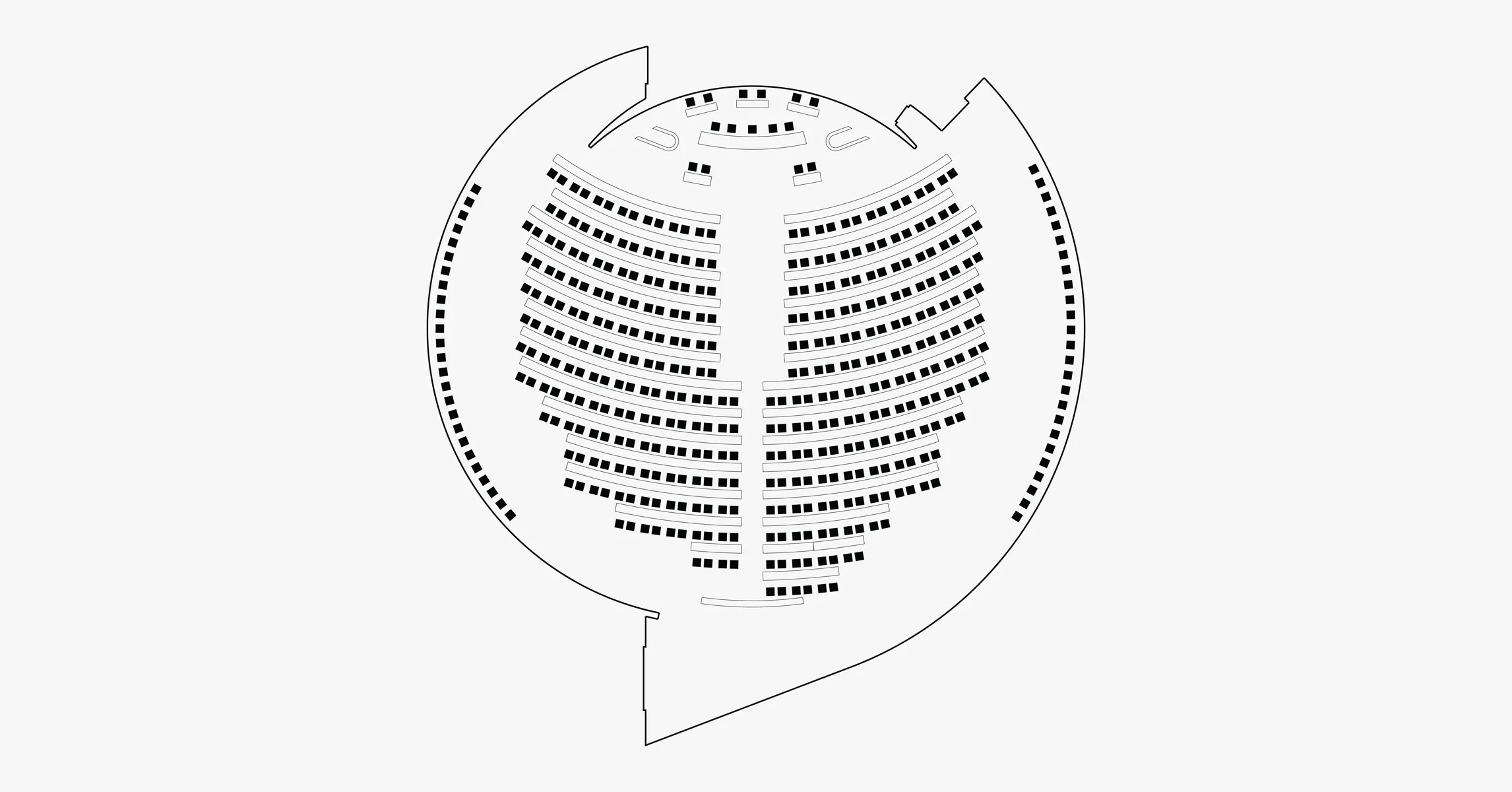 The Design Of Parliaments Has A Funkadelic Impact On