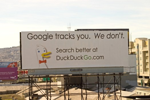 DuckDuckGo Challenges Google on Privacy (With a Billboard) | WIRED