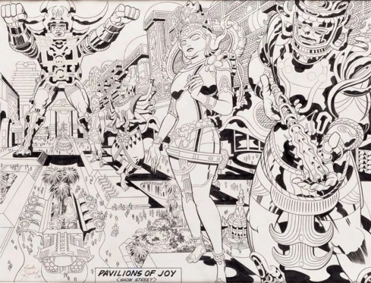 Image result for jack kirby argo