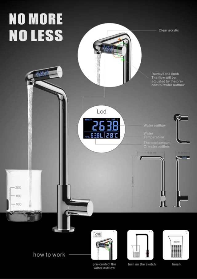 no more no less faucet precisely pre