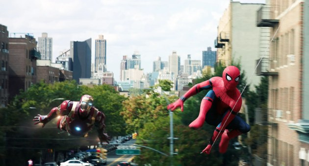 Image result for spider man iron man