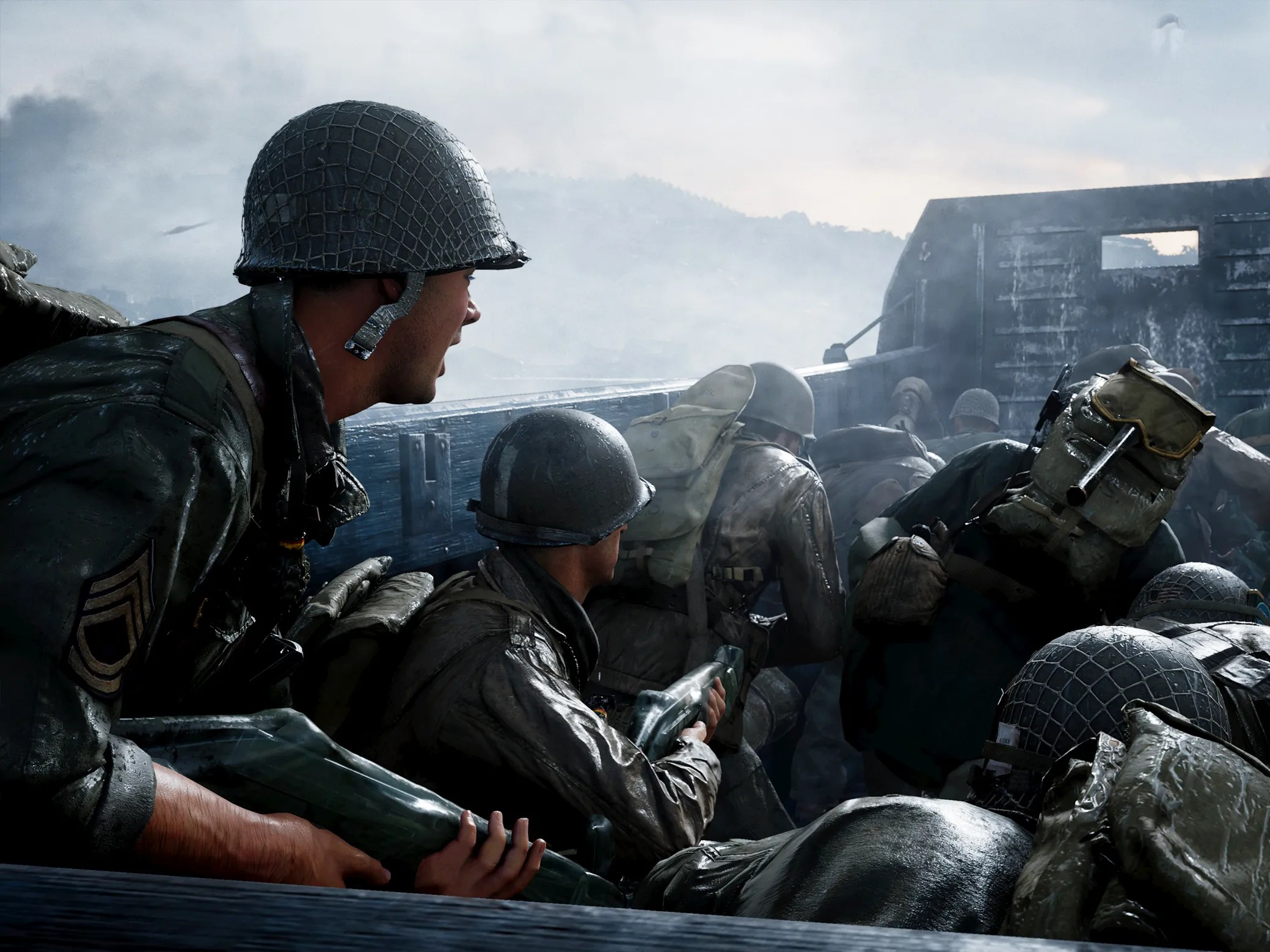 Call Of Duty Wwii Review It Shares A Premise With The