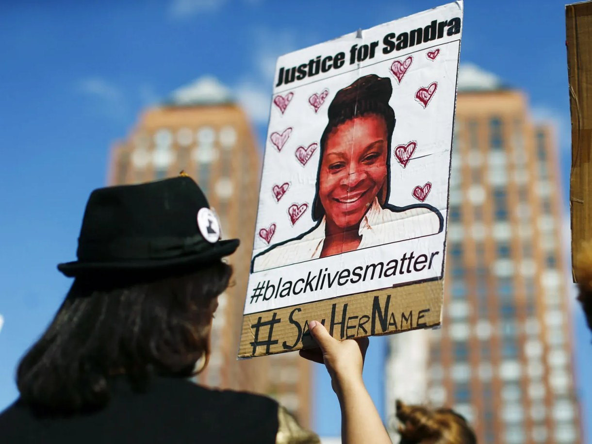 The Energy of Sandra Bland's Cellphone Video 3