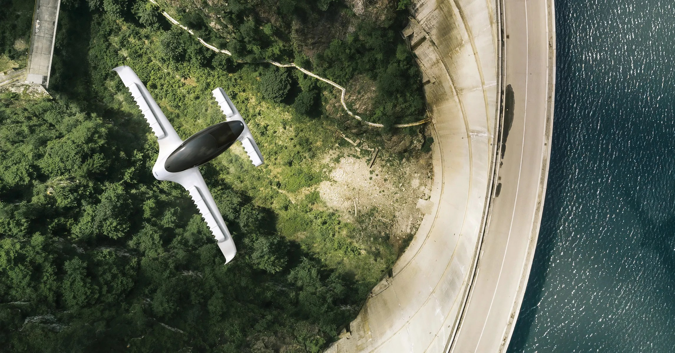 transportation-lillium Lilium's 36-Motor Flying Taxi Takes Off for the First Time