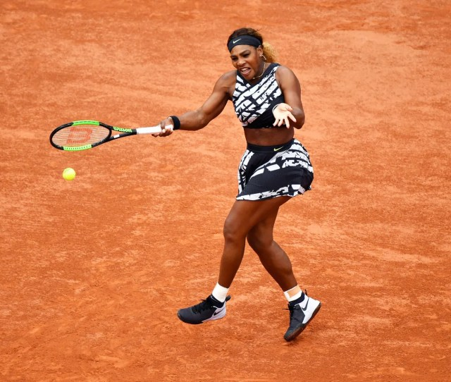 Depth Of Field At The French Open Serena Williams Is A Study In Motion