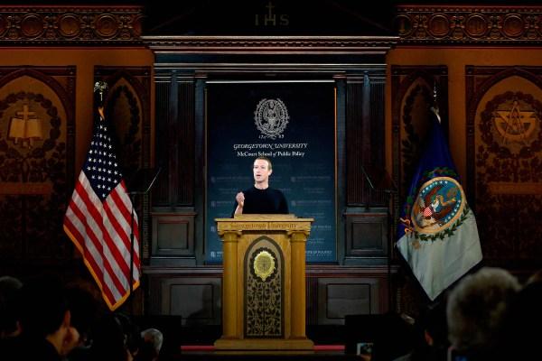 Zuckerberg Doubles Down on Free Speech-the Facebook Way
