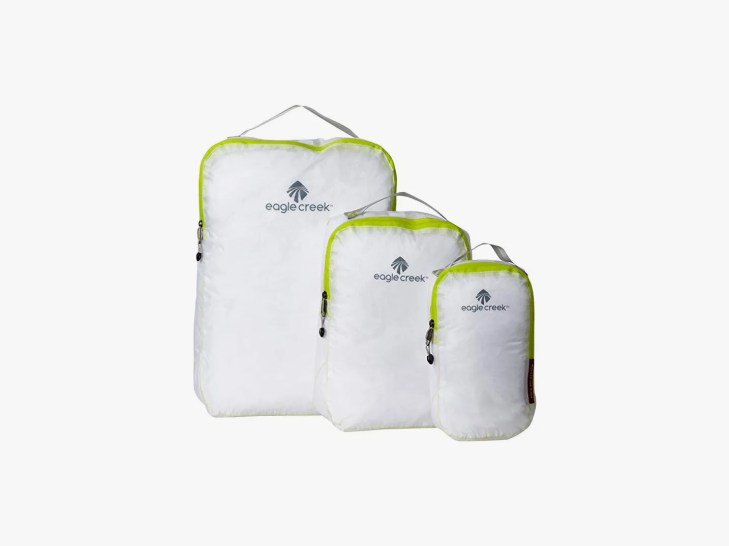 different sized bags for packing