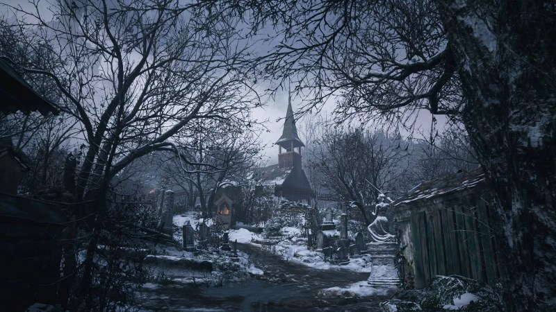 Resident Evil 8 cimitero del villaggio