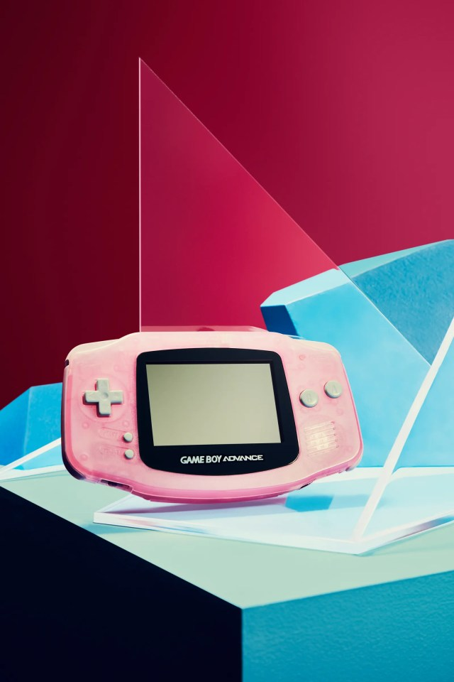mineral pink game boy advance