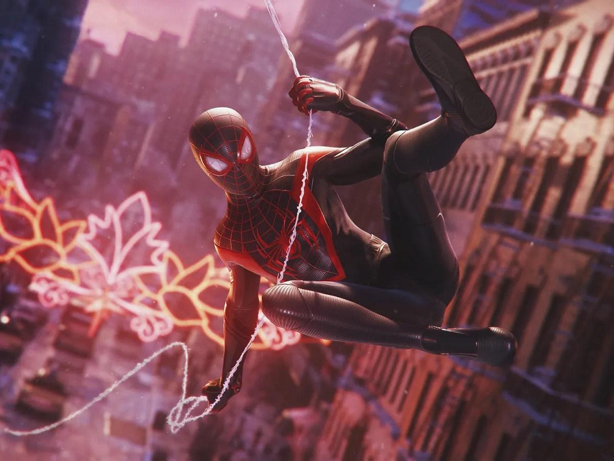 Screenshot of Marvel's SpiderMan Miles Morales game