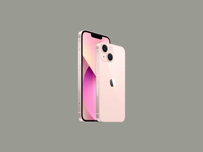 two apple iphones