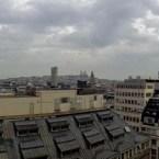 Panorama Paris från taket på Printemps av Johan Wistbacka