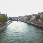 Panorama Seine i Paris