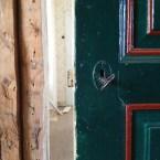 Upp-och-nervänd dörr