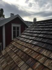 Det halvtjärade taket.