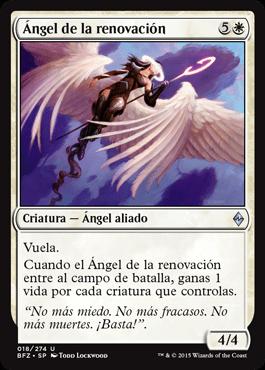 Ángel de la renovación