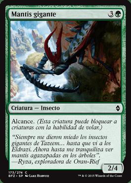 Mantis gigante