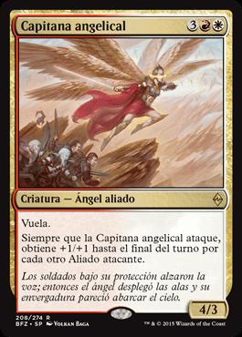 Capitana angelical